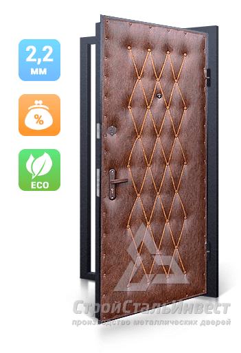 тамбурные металлическая дверь эконом в люберцах