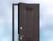 непромерзающие стальные двери в частный дом
