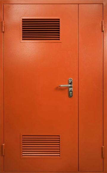 металлические двери на электрощитовую
