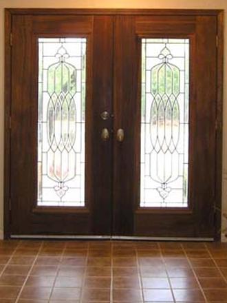 входная дверь со стеклопакетом электросталь